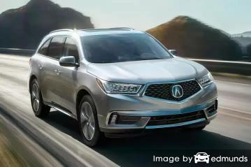 Insurance rates Acura MDX in Baltimore