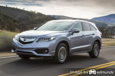 Insurance quote for Acura RDX in Baltimore
