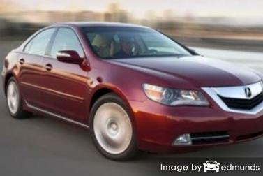 Insurance quote for Acura RL in Baltimore