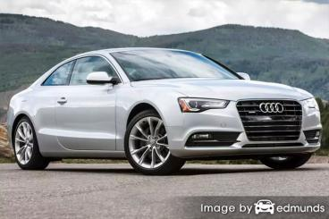 Insurance rates Audi A5 in Baltimore