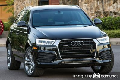 Insurance quote for Audi Q3 in Baltimore