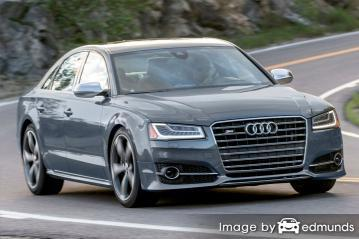 Insurance rates Audi S8 in Baltimore