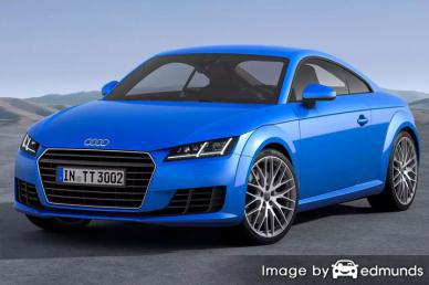 Insurance rates Audi TTS in Baltimore