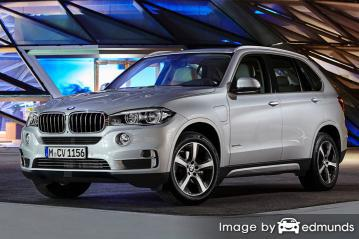 Insurance quote for BMW X5 eDrive in Baltimore