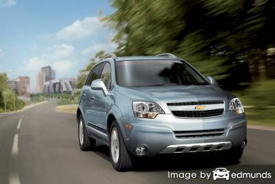 Insurance rates Chevy Captiva Sport in Baltimore