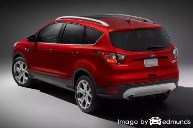 Insurance quote for Ford Escape in Baltimore