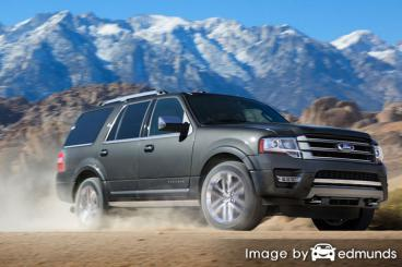 Insurance quote for Ford Expedition in Baltimore