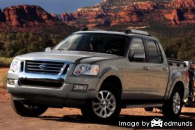 Insurance quote for Ford Explorer Sport Trac in Baltimore