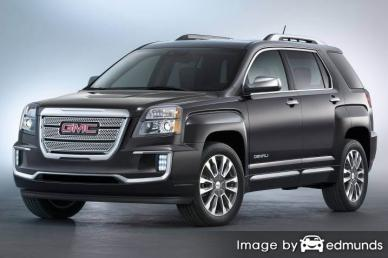 Insurance quote for GMC Terrain in Baltimore