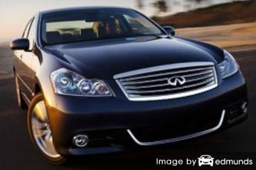 Insurance quote for Infiniti M35 in Baltimore