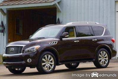 Insurance quote for Infiniti QX56 in Baltimore