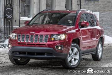 Insurance quote for Jeep Compass in Baltimore