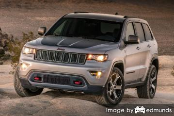 Insurance quote for Jeep Grand Cherokee in Baltimore