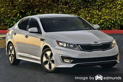 Discount Kia Optima Hybrid insurance