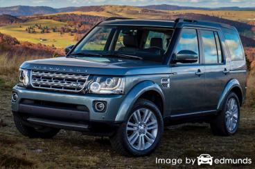 Insurance quote for Land Rover LR4 in Baltimore