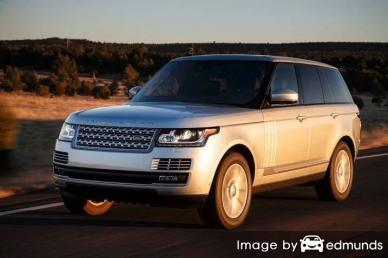 Insurance rates Land Rover Range Rover in Baltimore