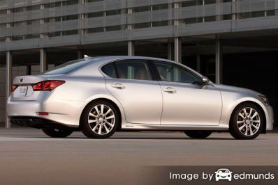 Insurance quote for Lexus GS 450h in Baltimore