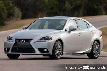 Insurance quote for Lexus IS 250 in Baltimore