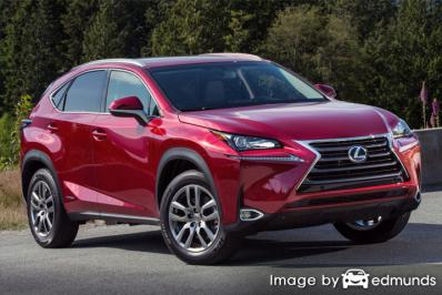 Insurance rates Lexus NX 300h in Baltimore