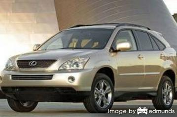 Insurance quote for Lexus RX 400h in Baltimore