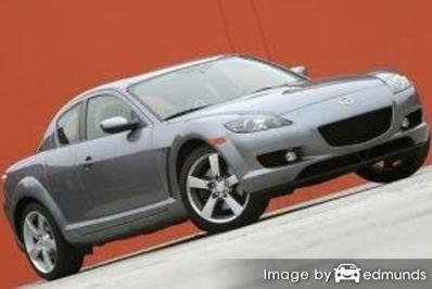 Insurance rates Mazda RX-8 in Baltimore