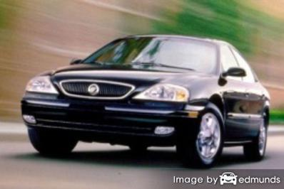 Insurance quote for Mercury Sable in Baltimore