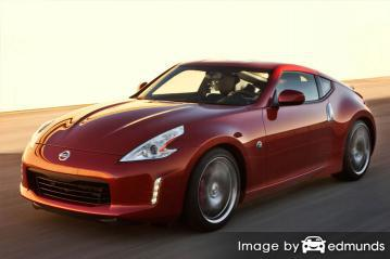 Insurance quote for Nissan 370Z in Baltimore