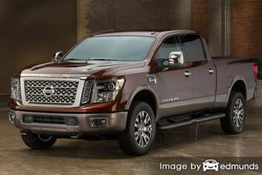 Insurance quote for Nissan Titan in Baltimore