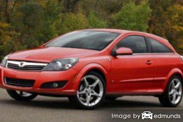 Insurance quote for Saturn Astra in Baltimore