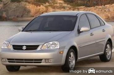 Insurance quote for Suzuki Forenza in Baltimore